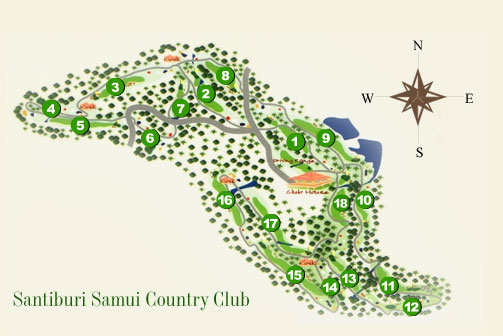 santiburi_golf_layout